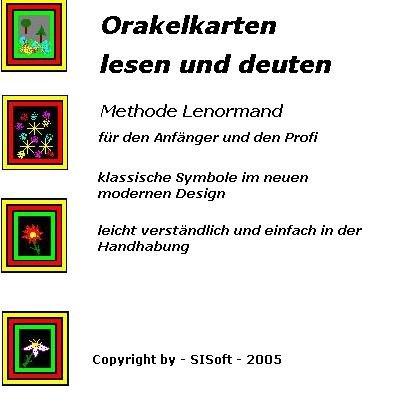 9783935869232: Orakelkarten lesen und deuten wie ein Profi: Methode Lenormand (Livre en allemand)