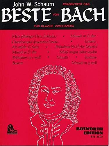 9783936026061: Das Beste Von Bach. Klavier (Livre en allemand)