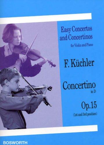 9783936026122: Concertino en R� Maj. Op.15 - Vl/Po
