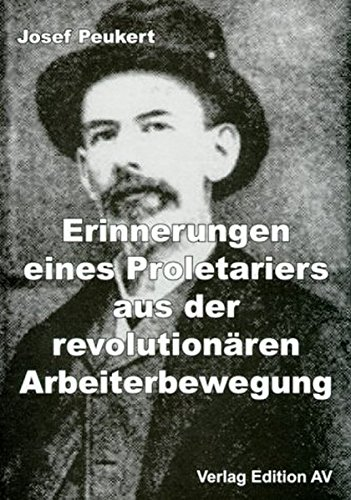 9783936049114: Erinnerungen eines Proletariers aus der revolutionären Arbeiterbewegung