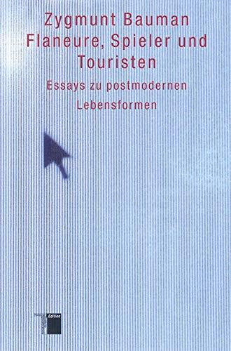 9783936096781 Flaneure Spieler Und Touristen Essays Zu