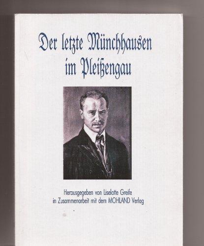 9783936120080: Der letzte M�nchhausen im Plei�engau