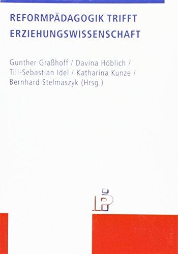 Reformpadagogik trifft Erziehungswissenschaft: European Community Studies: Gunther Grahoff, Davina