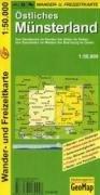 9783936184457: Münsterland (Östliches Münsterland) 1 : 50 000: Wander- und Freizeitkarte. Von Rheine im Norden dis Haltern am See im Süden. Von Enschede im Westen ... und Ortsregister. Reiter- und Ponyhöfe