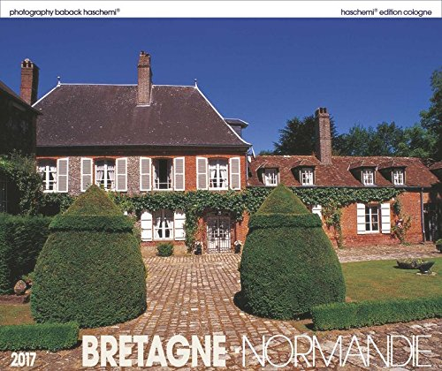 9783936222906: Bretagne-Normandie 2016: Fotokunstkalender XL Format 50 x 42 cm