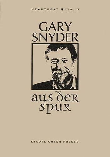 9783936271034: Aus der Spur (Livre en allemand)