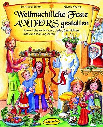 9783936286489: Weihnachtliche Feste anders gestalten