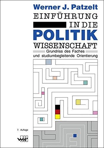 9783936332100: Patzelt, W: Einführung in die Politikwissenschaft