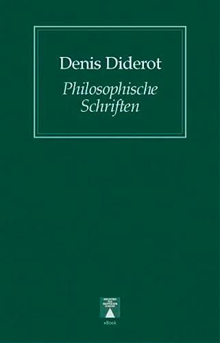 9783936345247: Philosophische Schriften. Eine Auswahl
