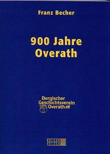 900 Jahre Overath: Becher, Franz