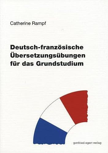 9783936496185: Deutsch-franz�sische �bersetzungs�bungen f�r das Grundstudium