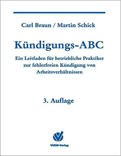 9783936623086: Kündigungs-ABC.