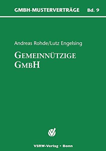 Die gemeinnützige GmbH. Inkl. CD-ROM