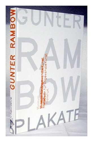 9783936681222: Gunter Rambow : Plakate = posters / Eva Linhart ; mit Beitragen von Volker Fischer ... [et al.]