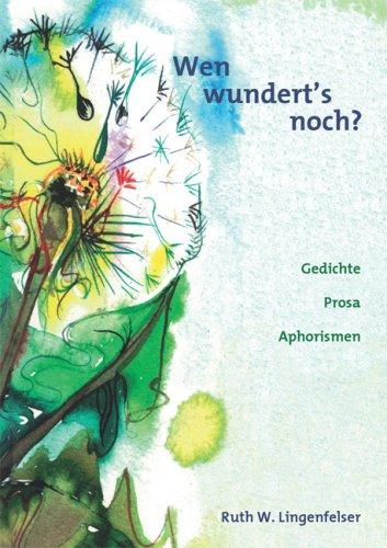 9783936693348: Wen wundert's noch? (Livre en allemand)