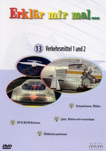 9783936736137: Erklär mir mal... - Vol. 13: Verkehrsmittel 1&2 [Alemania] [DVD]