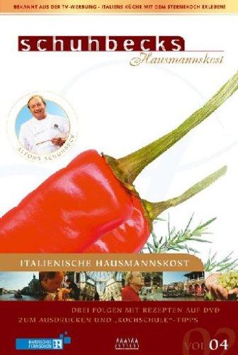 9783936736793: Schuhbecks Hausmannskost - Italien Vol. 4 [Alemania] [DVD]
