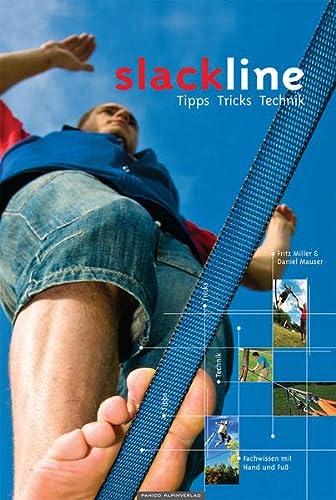 9783936740530: Lehrbuch Slackline: Tipps, Tricks, Technik