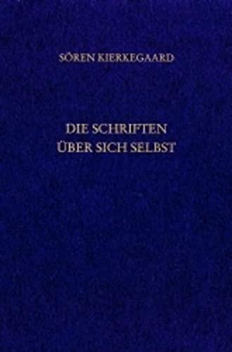 9783936762334: Die Schriften über sich selbst. Gesammelte Werke und Tagebücher. 33. Abt. Bd. 23