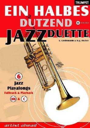 9783936807172: Ein halbes Dutzend Jazz Duette, Trumpet, m. Audio-CD