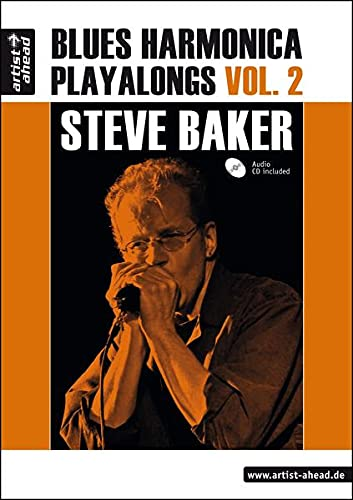 9783936807868: Blues Harmonica Playalongs Vol.2, deutsche Ausgabe, Steve Baker (inkl. Audio-CD)