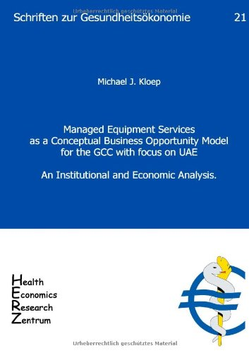 Managed Equipment Services as a Conceptual Business: Michael J. Kloep