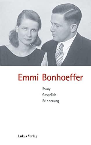 9783936872316: Emmi Bonhoeffer