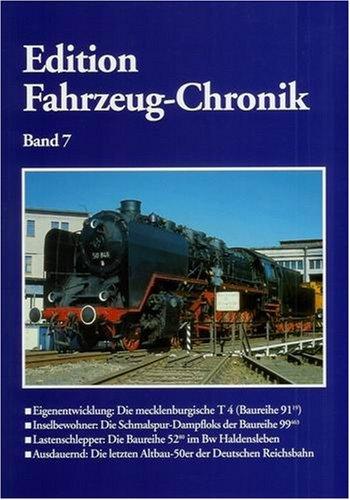 9783936893175: Edition Fahrzeug-Chronik Band 7 (Livre en allemand)