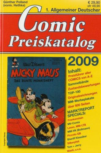 9783937102931: Comicpreiskatalog 2009