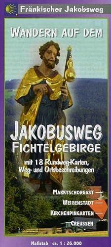 Wandern auf dem Jakobusweg Fichtelgebirge / 18 Ktn: Jürgen J Taegert