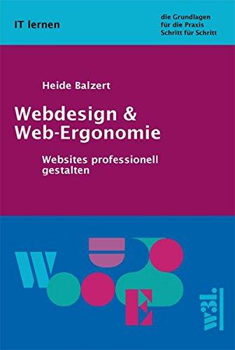 9783937137025: Webdesign und Web-Ergonomie: Websites professionell gestalten