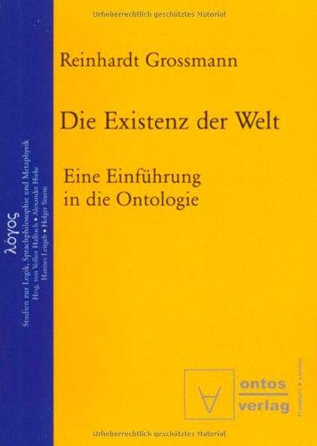 Die Existenz der Welt (3937202382) by Reinhardt Grossmann