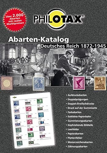 Abarten-Katalog Deutsches Reich