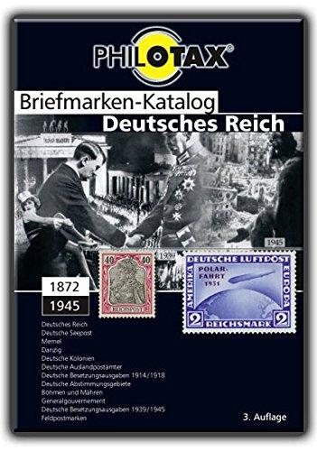 9783937247212: Briefmarken-Katalog Deutsches Reich mit Kolonien und Gebieten
