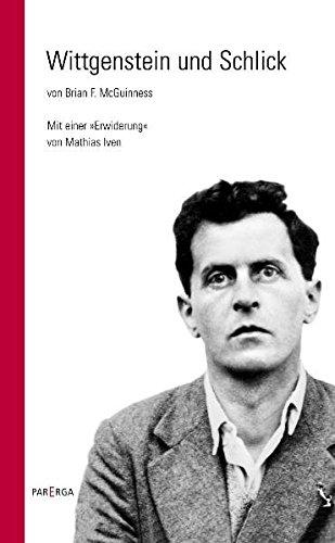"""9783937262857: Wittgenstein und Schlick: Mit einer """"Erwiderung"""" von Mathias Iven"""
