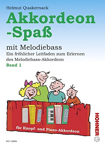 9783937315041: AKKORDEON-SPASS BAND 1       GERMAN TEXT