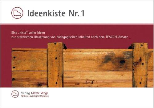 9783937340135: Ideenkiste NR. I Eine Kiste voller Ideen zur praktischen Umsetzung von pädagogischen Inhalten nach dem TEACCH-Ansatz. (Livre en allemand)
