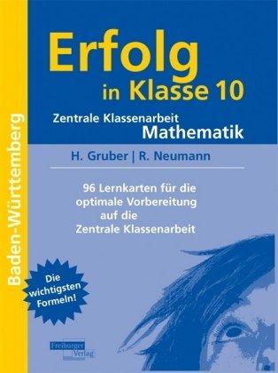 9783937366302: Erfolg in Klasse 10. Zentrale Klassenarbeit Mathematik: 96 Lernkarten für die optimale Vorbereitung auf die Zentrale Klassenarbeit