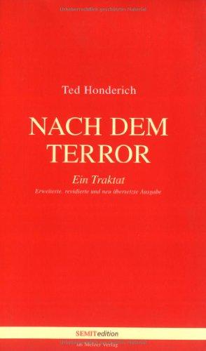 9783937389301: Nach dem Terror.