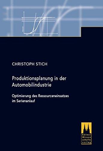 Produktionsplanung in der Automobilindustrie: Christoph Stich