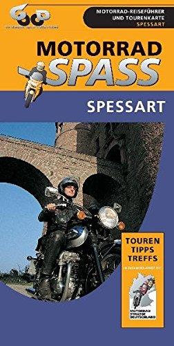 9783937418025: Motorradspaß Spessart.