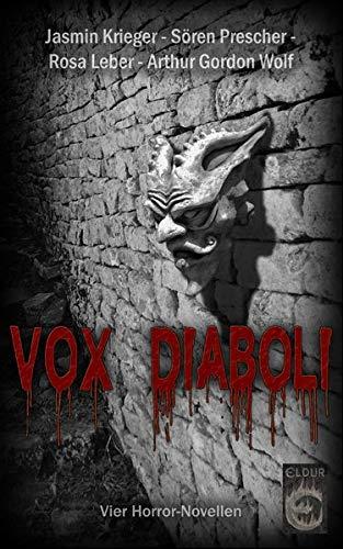 9783937419312: Vox Diaboli: Vier Horror-Novellen