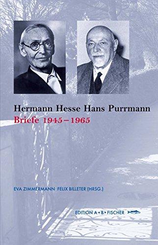 9783937434407: Hermann Hesse  Hans Purrmann