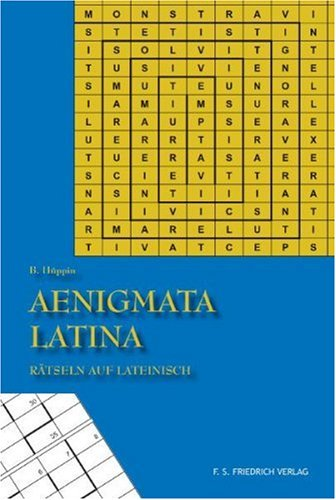 9783937446165: Aenigmata Latina - Rätsel auf Lateinisch