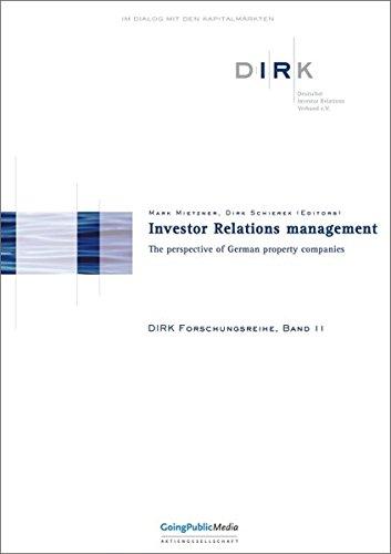 Investor Relations managment: Mark Mietzner