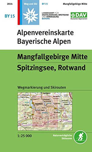 9783937530345: Mangfallgebirge Mitte By15 Walkski