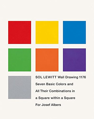 9783937572352: Sol LeWitt: Seven Basic Colors and All Their Combinations in a Square Within a Square