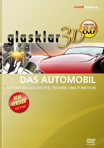 9783937775302: glasklar 3D Das Automobil