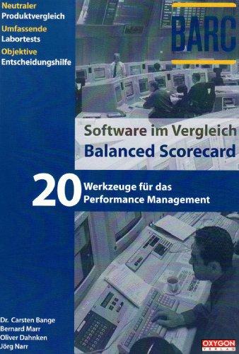 9783937818023: Software im Vergleich: Balanced Scorecard. 20 Werkzeuge für das Performance Management