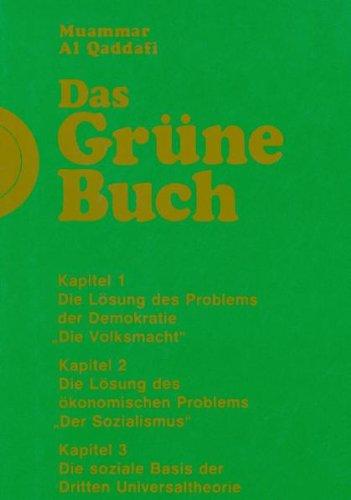 9783937820194: Das Grüne Buch